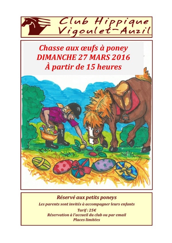affiche chasse aux oeufs
