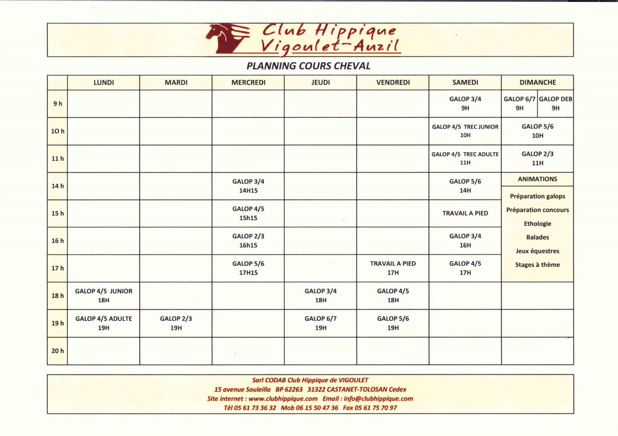 horaires-cours-cheval