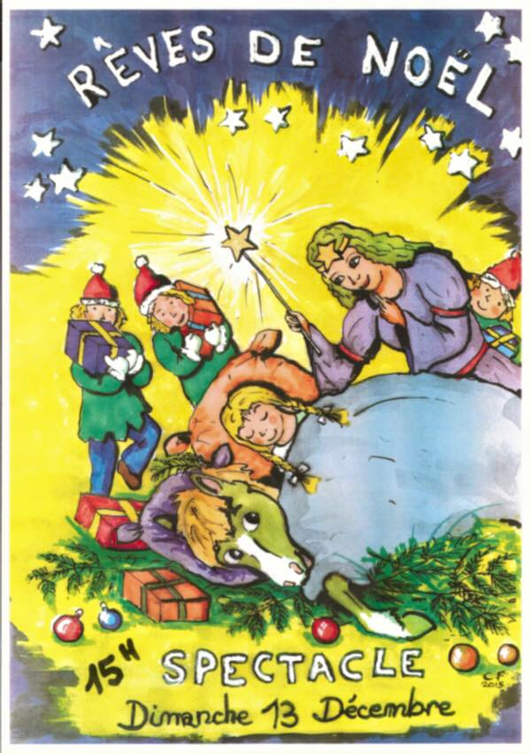 Spectacle de Noël 2015 Vigoulet-Auzil